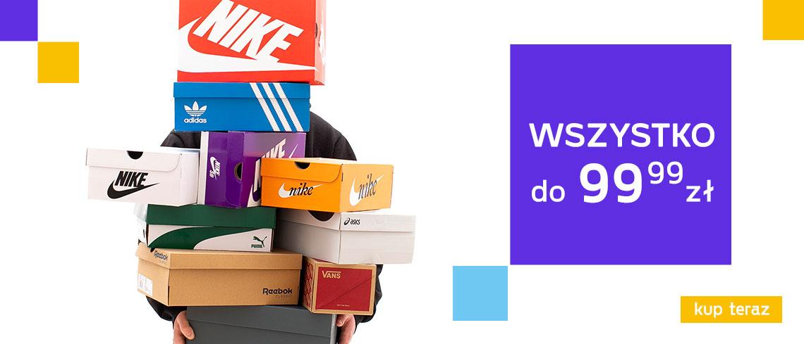 Worldbox: odzież i obuwie sportowe znanych marek od 99,99 zł w kategorii do 99.99