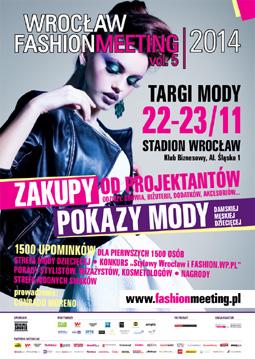 Wrocław Fashion Meeting 22-23 listopada 2014