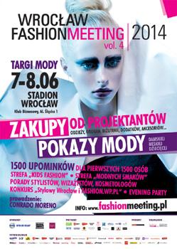 Wrocław Fashion Meeting 7-8 czerwca 2014