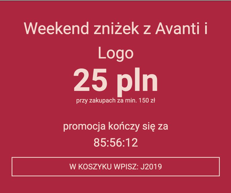 Wyprzedaże Bielizny: Weekend Zniżek 25 zł rabatu przy zakupach za min. 150 zł