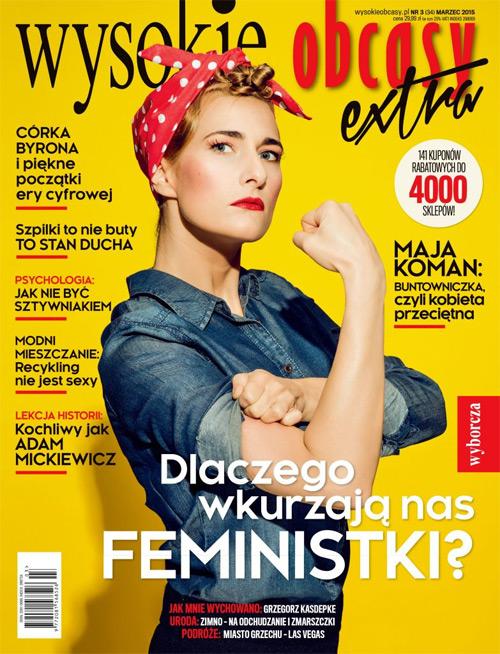 Weekend Zniżek z magazynem Wysokie Obcasy Extra w całej Polsce 14-15 marca 2015