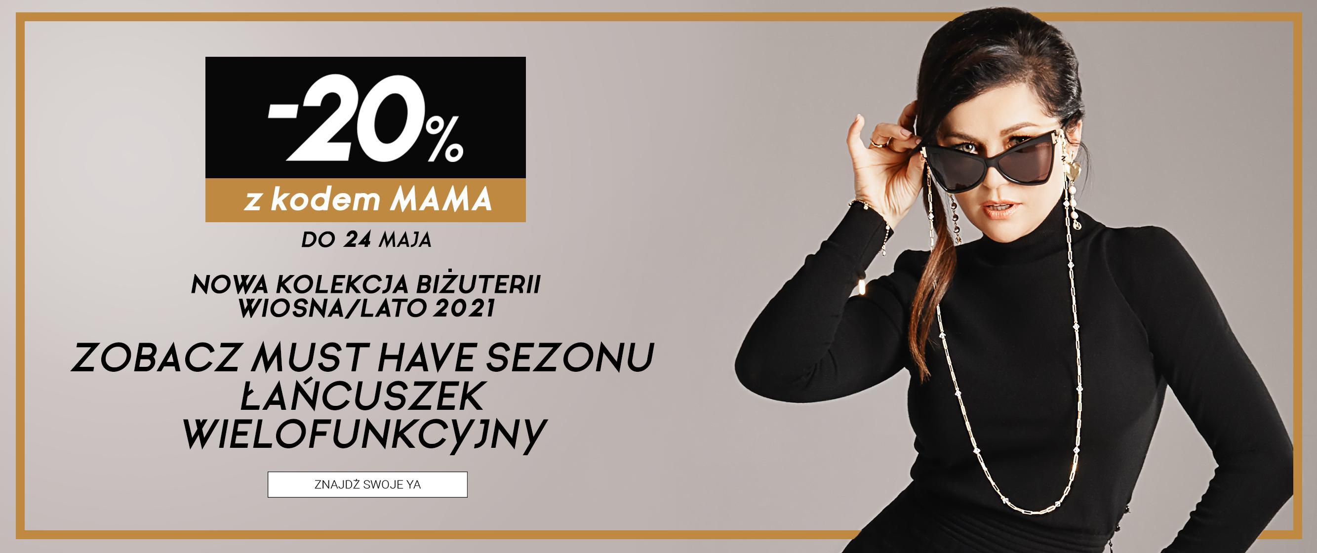 YA Cichopek: 20% rabatu na nową kolekcję biżuterii wiosna-lato 2021