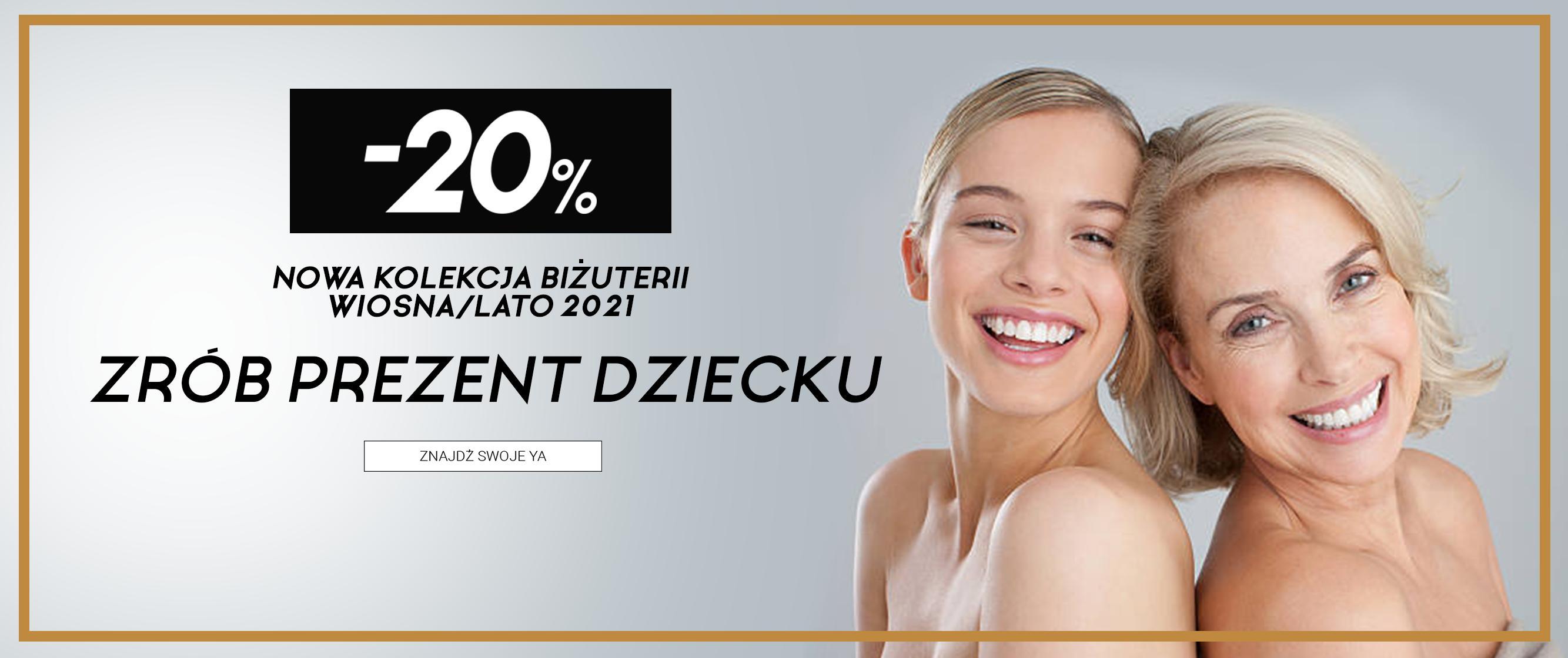 YA Cichopek YA Cichopek: 20% rabatu na nową kolekcję biżuterii z kolekcji Wiosna-Lato 2021