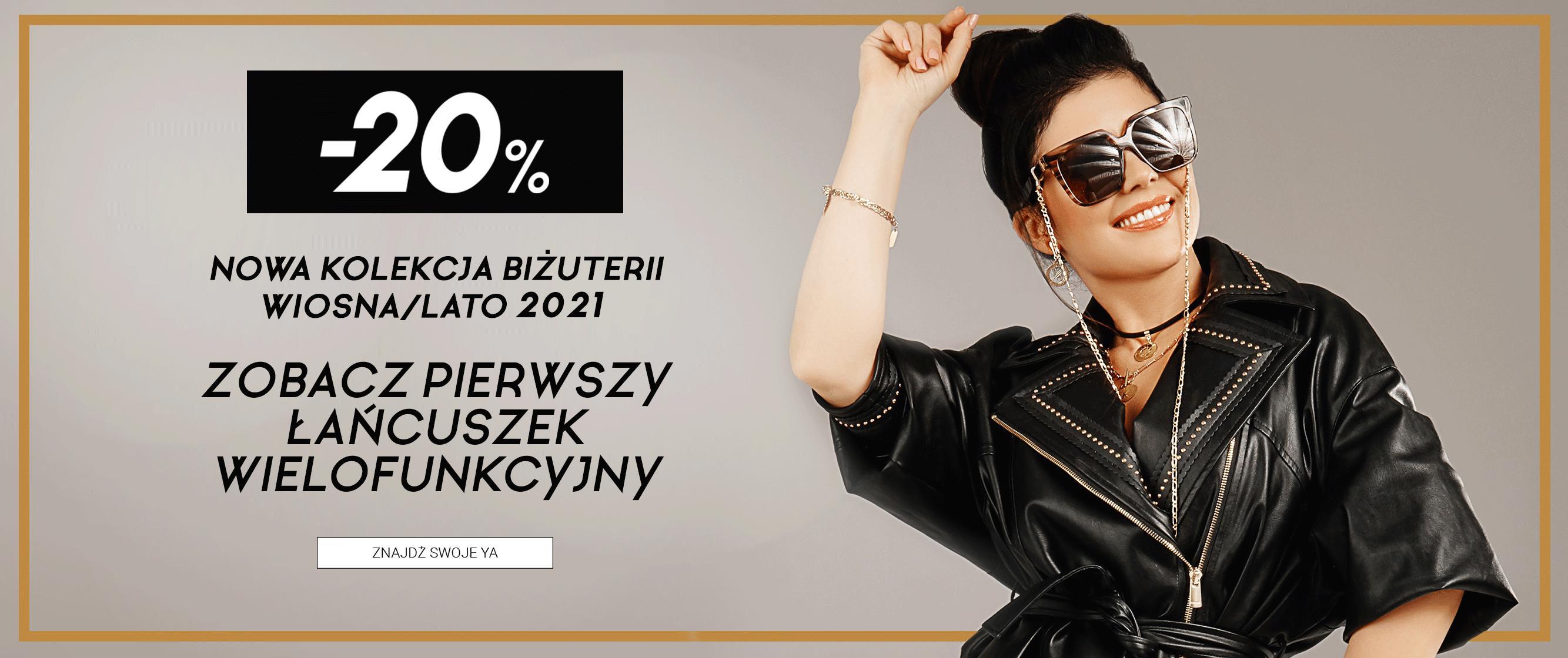 YA Cichopek YA Cichopek: 20% rabatu na nową kolekcję biżuterii wiosna/lato 2021
