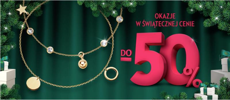 Yes: do 50% rabatu na biżuterię srebrną i złotą