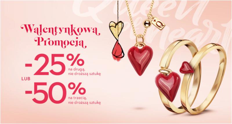 Yes Yes: 25% lub 50% rabatu na biżuterię