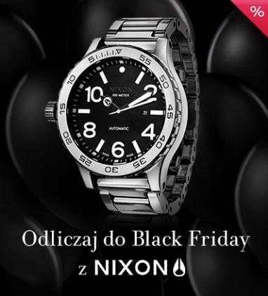 Black Friday Yes: do 45% zniżki na zegarki marki Nixon