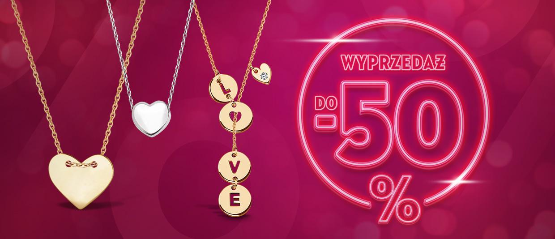 Yes Yes: wyprzedaż do 50% zniżki na biżuterię