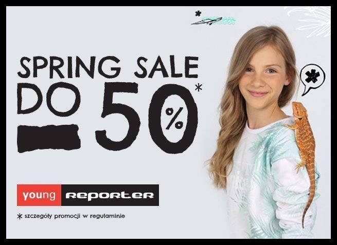 Young Reporter: wiosenna wyprzedaż do 50% zniżki