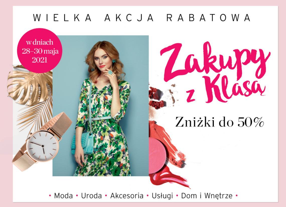 Weekend Zniżek Maj 2021 z magazynem Zwierciadło - Zakupy z Klasą w całej Polsce 28-30 maja 2021