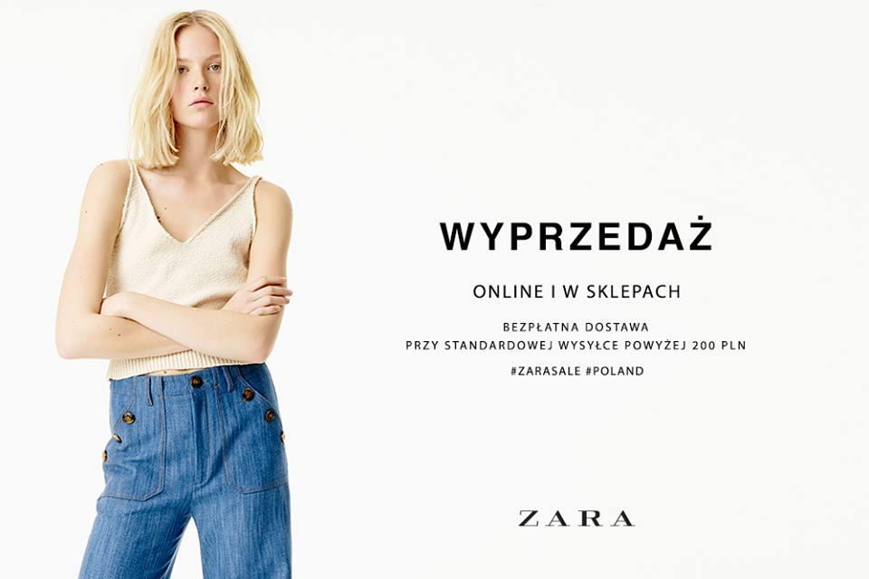 Zara: wyprzedaż sezonowa