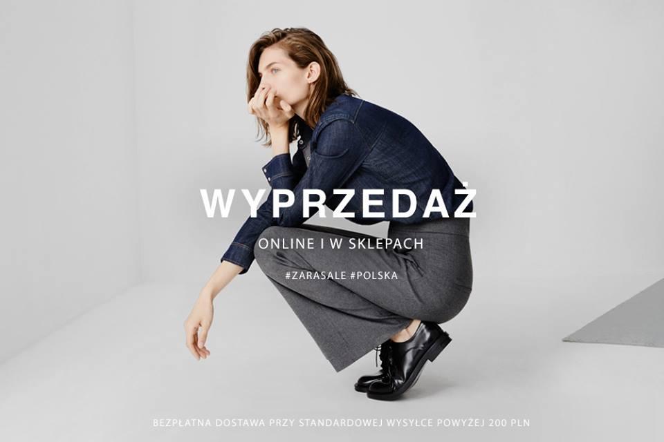 Zara: zimowa wyprzedaż                         title=