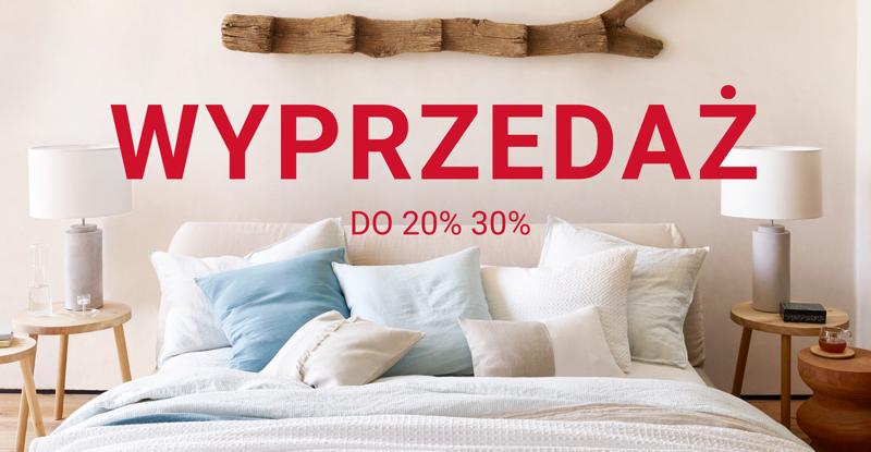 Zara Home: wyprzedaż do 30% zniżki na produkty do domu