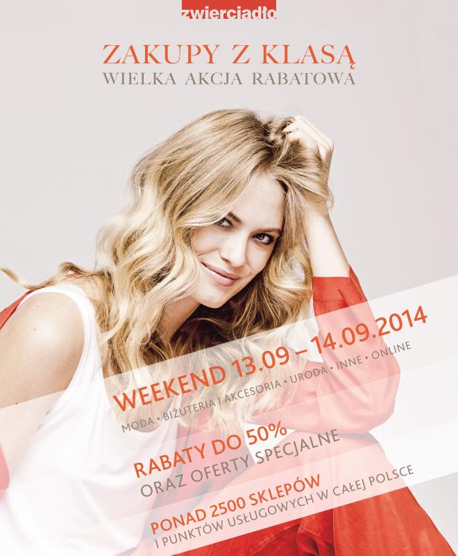 Zakupy z klasą w całej Polsce 12-13 września 2014