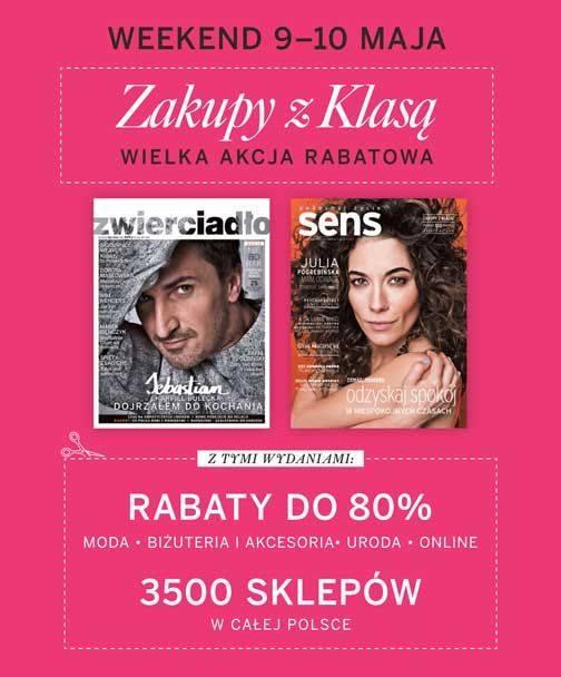 Zakupy z klasą w całej Polsce 9-10 maja 2015