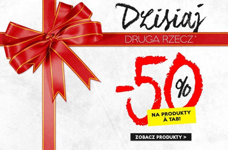 aTab: 50% rabatu na drugi produkt marki aTab