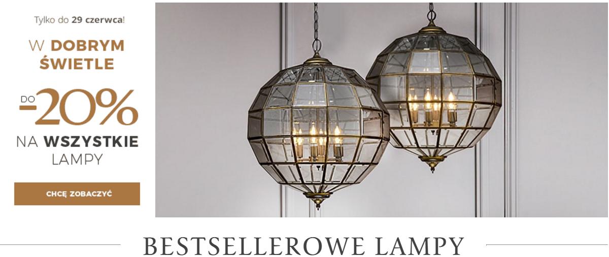 Almi Decor: 20% rabatu na wszystkie lampy