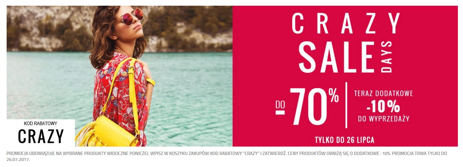 Answear: do 70% zniżki na odzież damską i dodatki oraz dodatkowe 10% zniżki do wyprzedaży                         title=