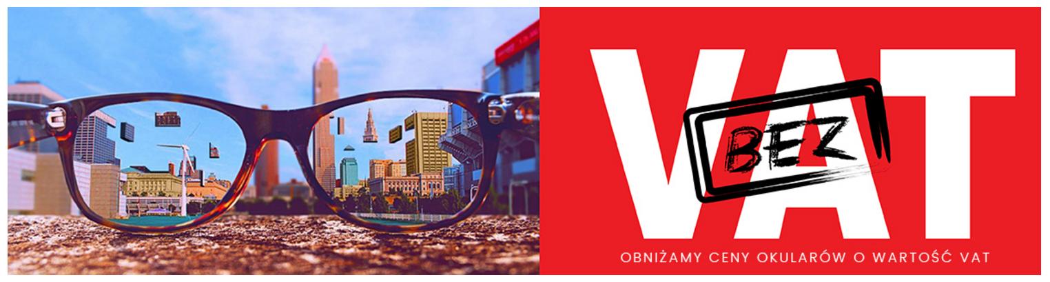 Aurore: zniżka na okulary przeciwsłoneczne i inne produkty objęte stawką 23% VAT