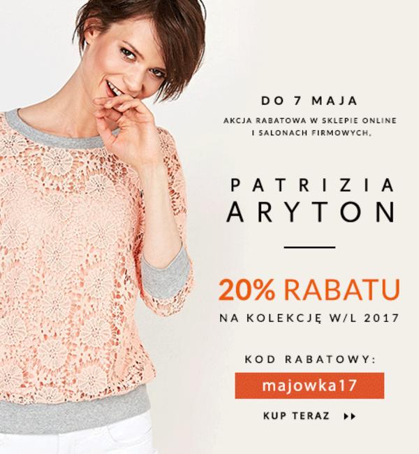 Balladine: 20% rabatu na odzież damską marki Patrizia Aryton