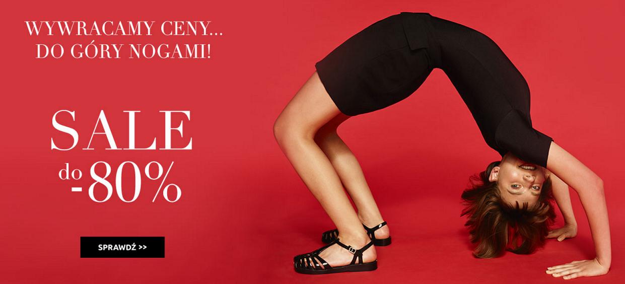 Bayla: do 80% rabatu na damskie i męskie obuwie letnie