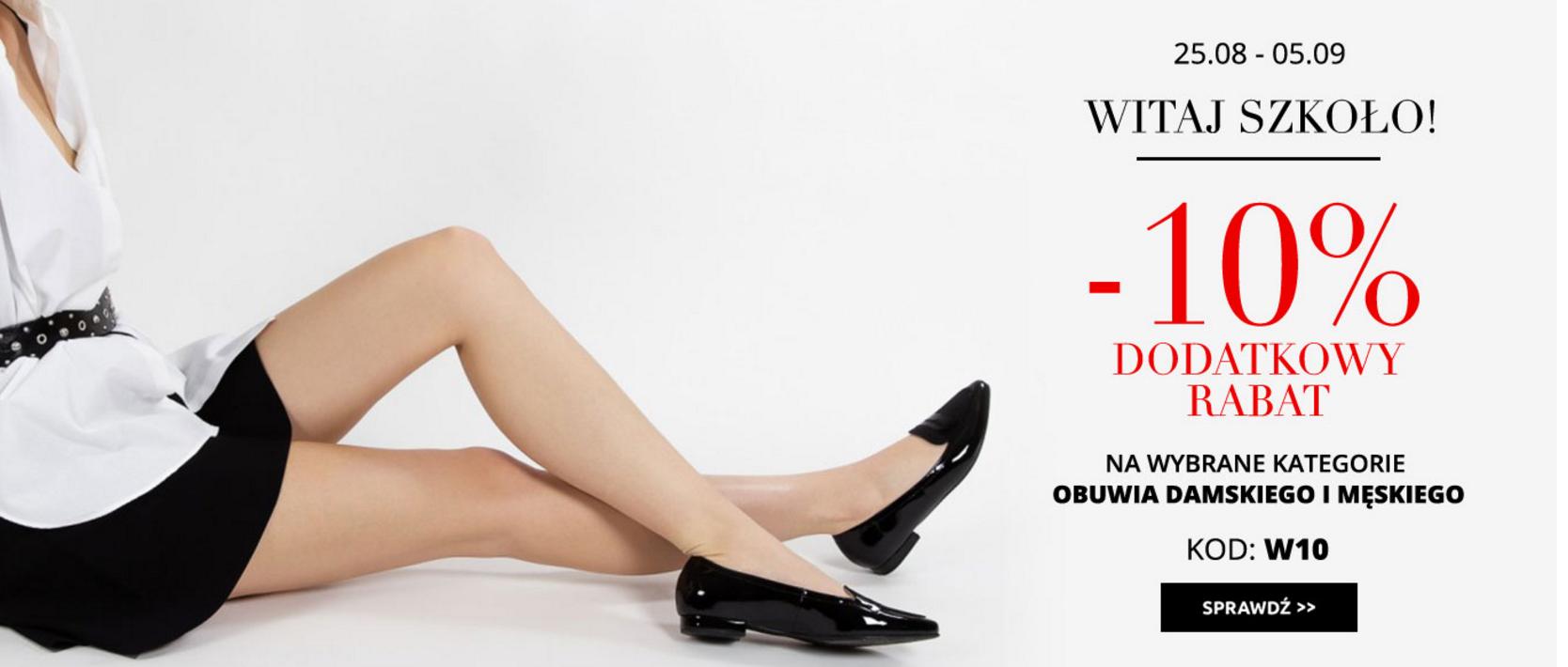 Bayla: dodatkowe 10% rabatu na wybrane obuwie damskie i męskie