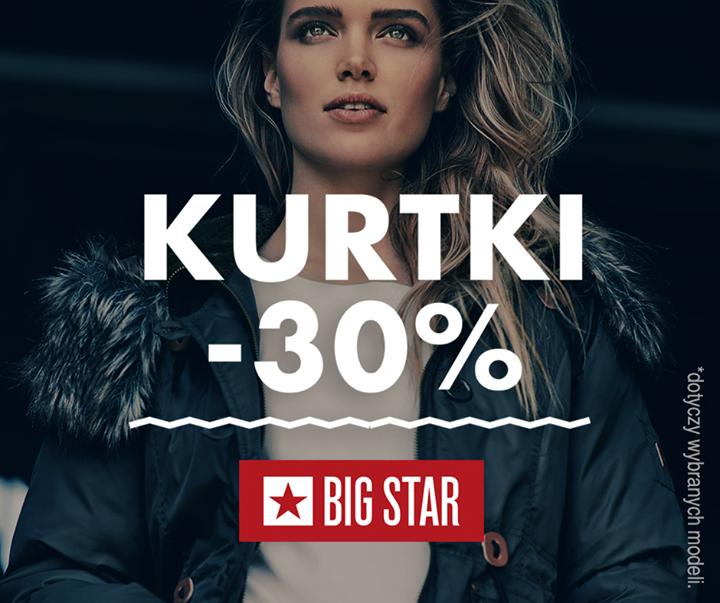 Big Star: 30% rabatu na kurtki i płaszcze