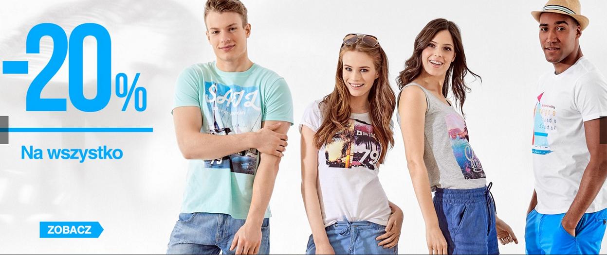 Big Star: 20% rabatu na wszystko z kolekcji odzieży damskiej i męskiej