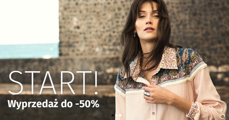 Blue Shadow: wyprzedaż do 50% zniżki na odzież damską i dodatki