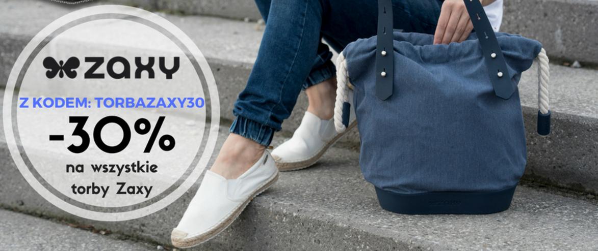 Bluestilo: 30% zniżki na wszystkie torby marki ZAXY                         title=