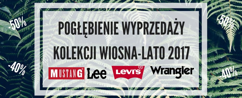 Bluestilo: kolekcja Wiosna/Lato 2017 marki Mustang, Lee, Levis i Wrangler od 29 zł                         title=