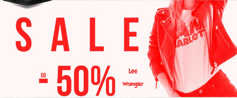 Bluestilo: wyprzedaż do 50% rabatu na odzież marki Lee Wrangler