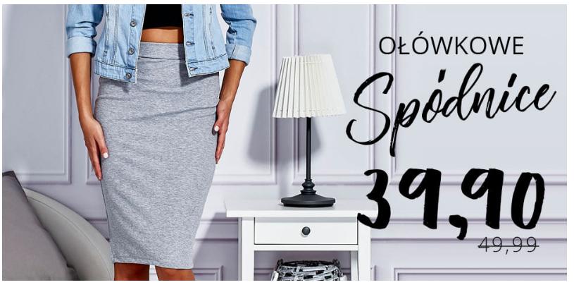 Butik: spódnice ołówkowe za 39,90 zł