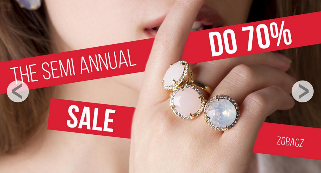 By Dziubeka: wyprzedaż do 70% rabatu na biżuterię, naszyjniki, kolczyki, bransoletki i broszki                         title=