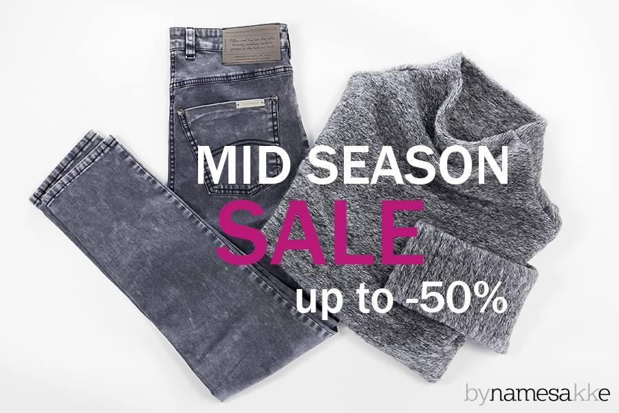 bynamesakke: Mid Season Sale do 50% zniżki                         title=