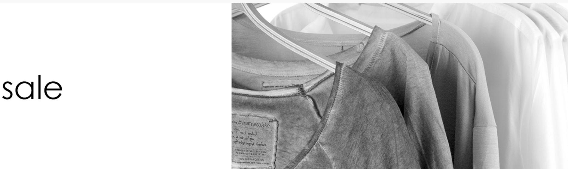 Bynamesakke: wyprzedaż do 50% zniżki na odzież dla kobiet                         title=