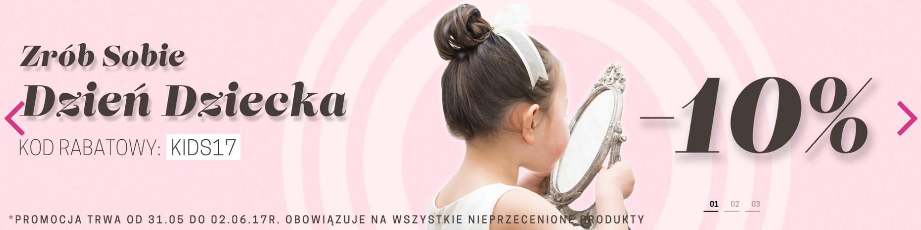 Cocolita: 10% zniżki na kosmetyki z okazji Dnia Dziecka