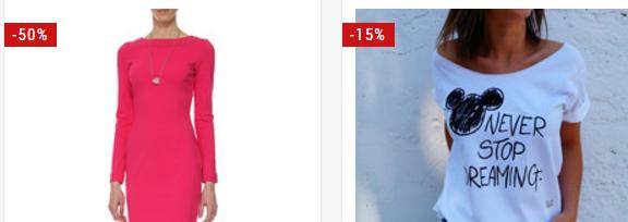 DaWanda: nawet do 60% zniżki na odzież damską, bluzki, koszulki                         title=