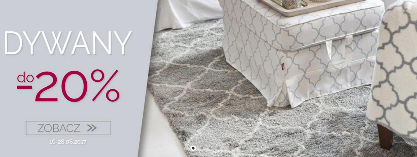 Dekoria: do 20% zniżki na dywany