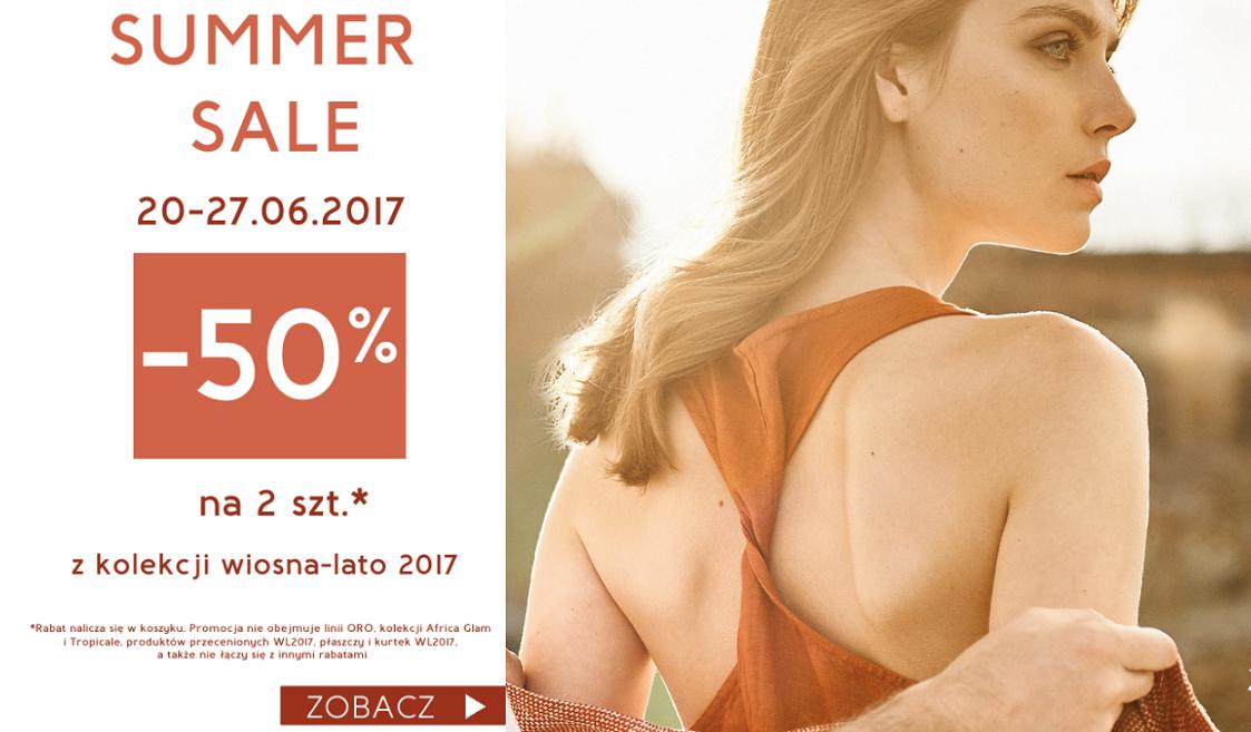 Deni Cler Milano: wyprzedaż do 50% rabatu na 2 szt z kolekcji Wiosna/Lato 2017                         title=