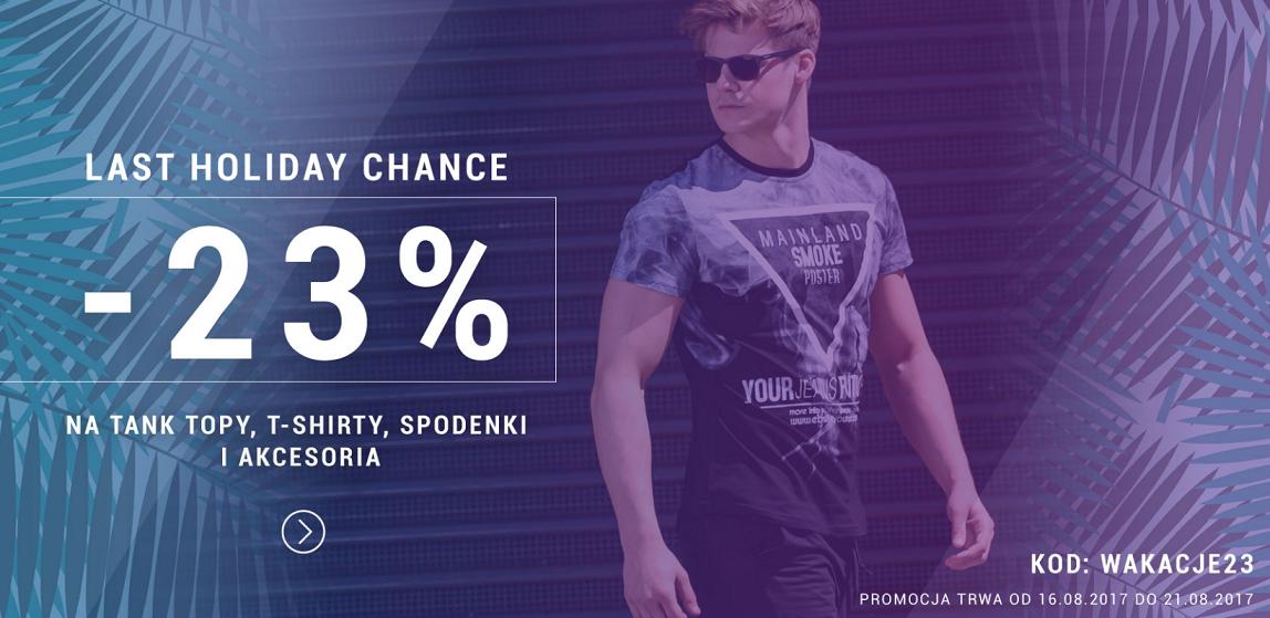 Denley: 23% zniżki na topy, t-shirty, spodenki i akcesoria