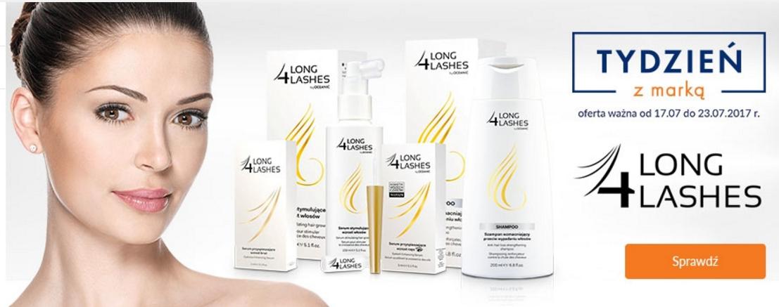 DOZ: kosmetyki marki 4 Long Lashes od 19,99 zł