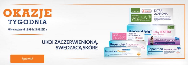 DOZ: produkty marki Bepanthen od 14,99 zł