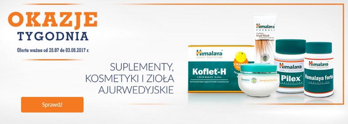 DOZ: suplementy, kosmetyki i zioła ajurwedyjskie od 7,49 zł