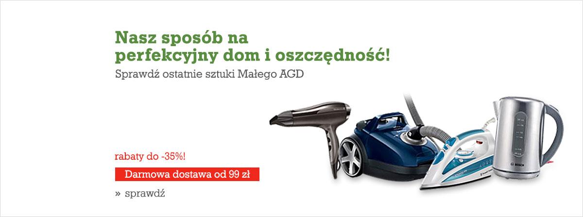 Agito: do 35% zniżki na ostatnie sztuki małego AGD