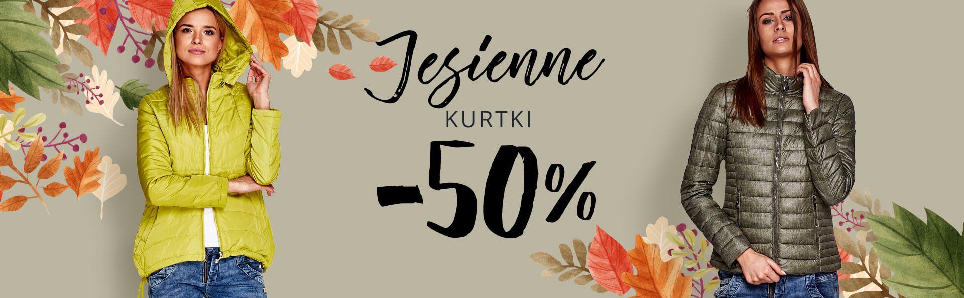 Butik: 50% rabatu na kurtki jesienne