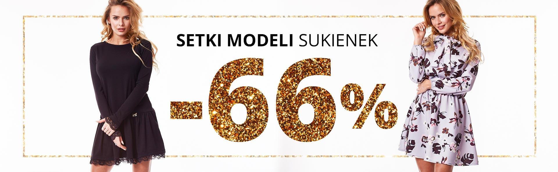 Butik: 66% zniżki na setki modeli sukienek