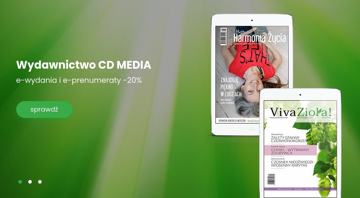 E-Kiosk: 20% zniżki na e-wydania i e-prenumeraty wydawnictwa CD Media