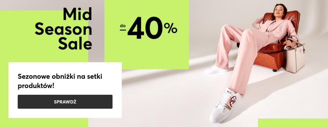 Eobuwie: wyprzedaż do 40% zniżki na buty damskie, buty męskie, buty dziecięce oraz torebki
