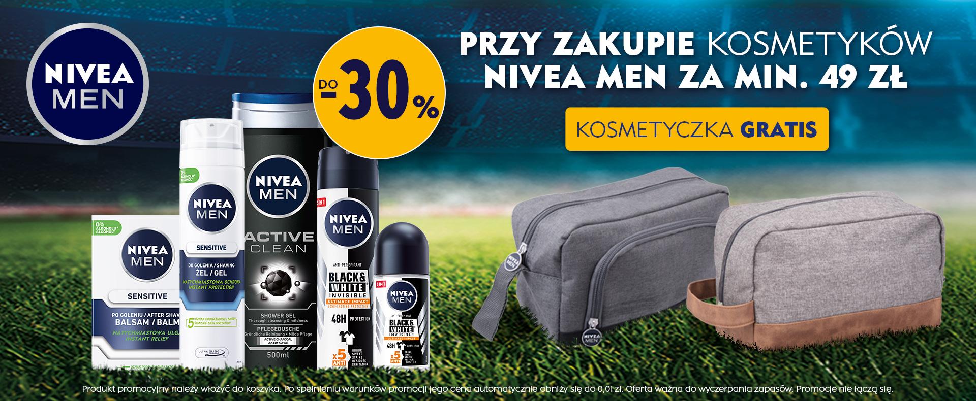 Ezebra: do 30% rabatu na kosmetyki marki Nivea przy zakupach za min. 49 zł